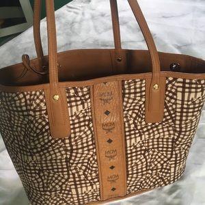 authentic reversible MCM bag